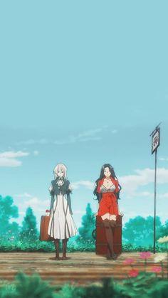 Violet Evergarden Wallpaper, Cute Anime Wallpaper, More Wallpaper, Violet Evergarden Gilbert, Anime Manga, Anime Art, Violet Evergreen, Violet Garden, Violet Evergarden Anime