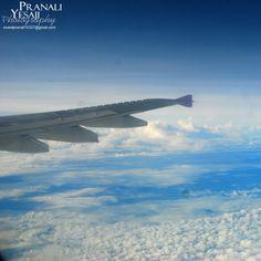 Fly in sky... Between clouds...