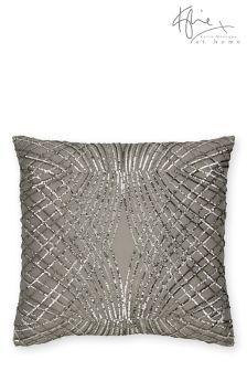 Kylie Esta Silver Cushion