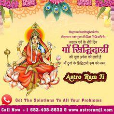Goddess Siddhidatri - The Goddess of Accomplishment ~ Astro Ram Ji