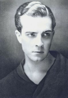 Ramon Novarro, 1920s. Great silent film star.