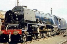 Designed to flatten Shap with the heaviest trains, Staniers Countess class were real giants, but remained a small class, as the smaller Duchesses were really all that was really needed.By Matthew Cousins By Train, Train Car, Train Tracks, Diesel Locomotive, Steam Locomotive, Steam Trains Uk, Abandoned Train, Steam Railway, Train Times