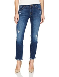 DL1961 Women's Mara Instasculpt Ankle Straight Jeans, Str...