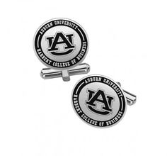 Auburn University Tigers Heart Stud Earring See Image on Model for Size Reference
