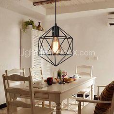 Luminaire suspendu linéaire  6 ampoules bronze ajustables idéal