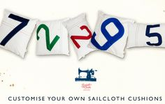 Quba & Co - stockists of cushions, chairs and bags etc made from old sail cloth (Woodthorpe Comms)