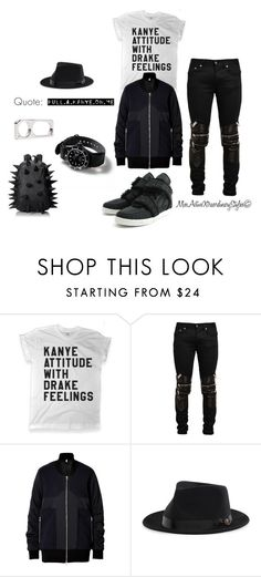 """""""Y3"""" by missactive-xtraordinary ❤ liked on Polyvore featuring TEN, HIDE, Yves Saint Laurent, Faith Connexion, MadPax, women's clothing, women's fashion, women, female and woman"""