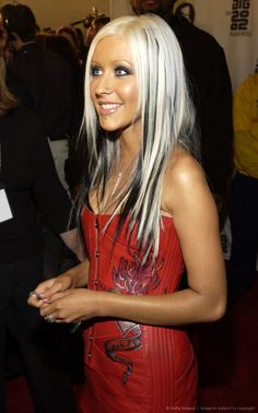 CHRISTINA AGUILERA in 2002 Awards - Arrivals