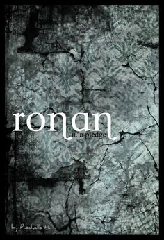 Boy Name: Ronan. Meaning: A Pledge. Origin: Celtic; Welsh. http://www.pinterest.com/vintagedaydream/baby-names/