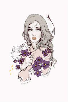 Soleil Ignacio Fashion Illustrations