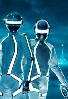 Daft Punk Tron by ~fuckiller on deviantART Daft Punk, Tron Legacy, Thomas Bangalter, Make Love, Rick Y Morty, Yves Klein, Punk Art, Future Fashion, Electronic Music