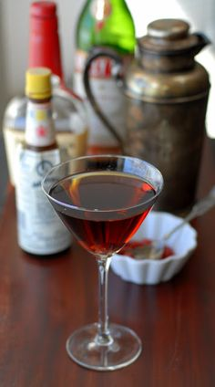 ... Manhattan cocktail and Homemade Maraschino Cherries | Boulder Locavore