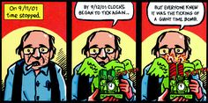 In ''In the Shadow of No Towers,'' Art Spiegelman is traumatized by and haunted by the comics of history. Art Spiegelman, Ny Times, Towers, Comic Books, History, Comics, Google Search, Historia, Tours