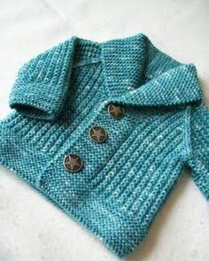 Baby Knitting Patterns Ravelry: Oscar pattern by Lili Comme Tout. 3 months to 8 yea… (NewBorn Baby Stuff) Knitting Patterns Boys, Baby Sweater Patterns, Knit Baby Sweaters, Knitted Baby Clothes, Boys Sweaters, Cardigan Pattern, Knitting For Kids, Baby Patterns, Crochet Patterns
