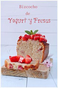 Este bizcocho es muy jugoso y tierno, podéis prepararlo de cualquier sabor de yogurt que tengáis en casa y ponerle frutas para darle un toque especial ;)