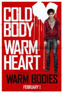 """""""Warm Bodies"""" Okay admittedly I was dubious about this but after seeing the trailer I'm sold.  Starring the adorable and talented Nicholas Hoult, Teresa Palmer, John Malkovich, and America's Next Top Model's Analeigh Tipton.  Glad to see she's doing well!"""
