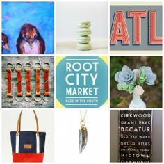 root city market / a fun + beautiful pop-up gathering of local artists + their work