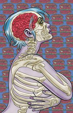 I, Zombie, una gran serie de Mike Allred que trae una visión fresca de los zombies... Brain Burguer??