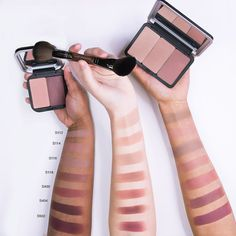 Make Up For Ever Artist Face Color Swatches