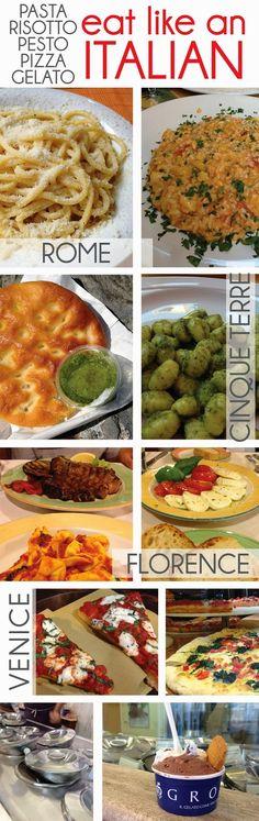 cornflake dreams.: eat like an italian. #italy #travel #food