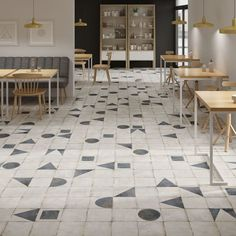 The Maison tile range is made for mixing and matching, Maison comes in plain and decorative varieties, with 6 different patterns filling each box randomly.