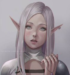 Elf Portrait by NibelArt on DeviantArt Fantasy Character Design, Character Design Inspiration, Character Art, Elf Characters, Fantasy Characters, Game Of Thrones Characters, Fictional Characters, Fantasy Women, Fantasy Girl