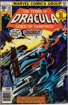 Tomb of Dracula 60  September 1977 Issue  Marvel by ViewObscura