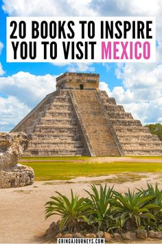 Here are 20 books to inspire you to visit Mexico, including The Hummingbird's Daughter by Luis Alberto Urrea, Gods of Jade and Shadow by Silvia Moreno-Garcia, Caramelo by Sandra Cisneros, and more. | books to read before visiting Mexico | the best books about Mexico | books about the history of Mexico | best books by Mexican authors | best Mexican literature | classic books about Mexico | books to read before traveling to Mexico | books about the Mexico revolution | books about Mexican…
