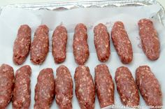 My authentic family recipe for Cevapi