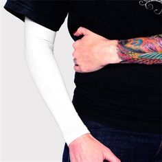 Cover Up Tattoos   Tattoo Cover Up   Ink Armor White Full Sleeve   Tat2X