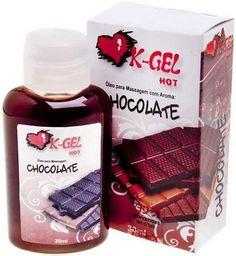 Gel térmico beijável chocolate, este com sabor e aroma irresistível. feito para apimentar suas relações, o mesmo aquece o local aplicado, ideal tornar o sexo oral ainda mais saboroso.