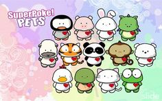 Superpoke Pets....gone but not forgotten. =^_^=