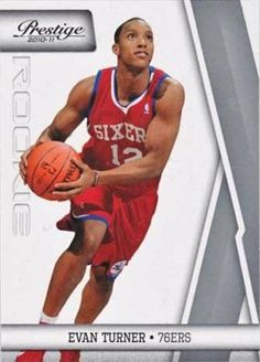 Evan Turner 2010 / 2011 Panini Prestige Basketball Mint Rookie Card #152 Shipped in a Protective Screw Down Holder! Great Investmant Card of This Philadelphia Sixers Future Star! by Panini. $9.99. Evan Turner 2010 / 2011 Panini Prestige Basketball Mint Rookie Card #152 Shipped in a Protective Screw Down Holder! Great Investmant Card of This Philadelphia Sixers Future Star!