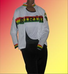 Irie Long Sleeve Jersey, T-Back and Knickers worn over the T-back.  GurlsRideOut.com