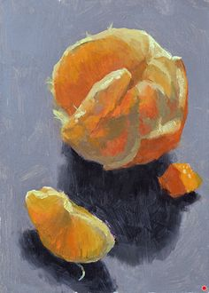 Translucent by Larry DeGraff, Oil, 7 x 5 Fruit Art, Larry, Still Life, It Works, Oil, Painting, Painting Art, Paintings, Painted Canvas