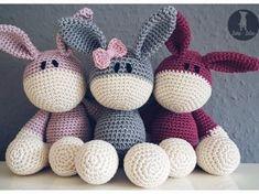 Crochet Donkey /// playful and cuddly - knitting pattern - # crochet . - Esel häkeln /// verspielt und kuschelig – Strickmuster stricken – Crochet Donkey /// playful and cozy – knitting knitting pattern – # crochet # cozy pattern Learn How To Knit, How To Start Knitting, Knitting For Beginners, Crochet Toys, Crochet Baby, Free Crochet, Beginner Crochet, Afghan Crochet, Hat Crochet