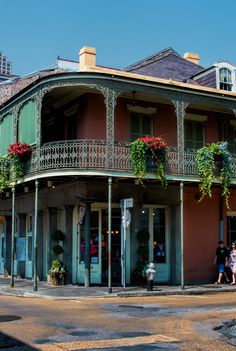 French Quarter. New Orleans, Louisiana.