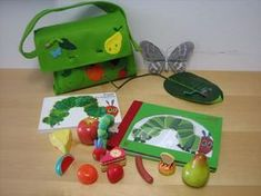 The very hungry caterpillar Eric Carle, Literacy Bags, Very Hungry Caterpillar, Tot School, Teaching Kindergarten, Toddler Activities, Kids Playing, New Baby Products, Gift Wrapping