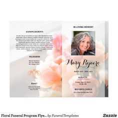 modern funeral brochure template word format school brochure