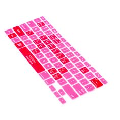 Mac Keyboard Cover in Pink.