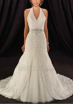 Halter Wedding Dress - 1507855 - Wedding Dresses