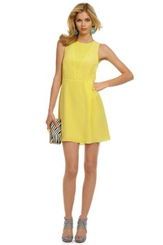 Tibi Dress: Blinded by the Light, perfect for the ATP. #RTRSummerOfStyle