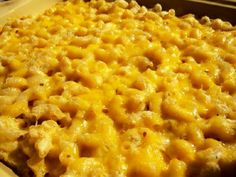 Gluten Free Macaroni and Cheese Recipe -- oven baked