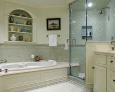 Spaces Sea Creatures Green Wood Panel Ceiling Bathroom Design, Pictures, Remodel, Decor and Ideas - page 13
