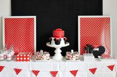 Minnie Mouse Themed Birthday Party - Kara's Party Ideas