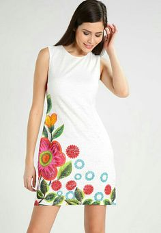bordado Couture Dresses, 15 Dresses, Simple Dresses, Cotton Dresses, Casual Dresses, Fashion Dresses, Summer Dresses, Designer Kurtis, Designer Dresses