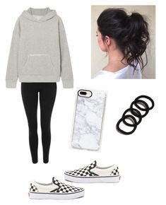"""Comfy"" by haileymagana on Polyvore featuring Topshop, Simon Miller and Vans"