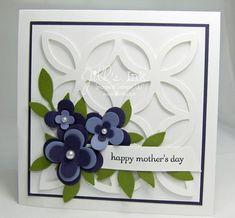 Lattice Mothers Day Card ~ Jill Franchett