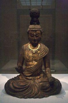 Bodhisattva. Kamakura Period Japan. e.13th C. sculptor : Kaikei.