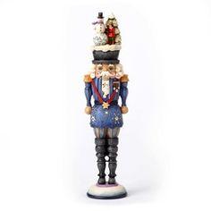 Nutcracker with Snowman Scene - 4055053